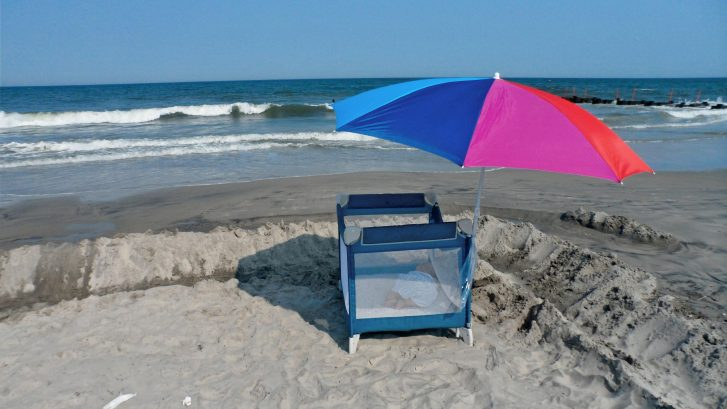 Make your own next on the beach
