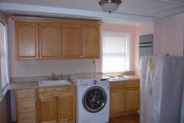 Kitchen, All New For 2013 With New Washer/dryer All In One Unit.