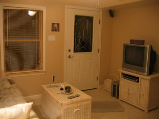 Living Room, Front Door