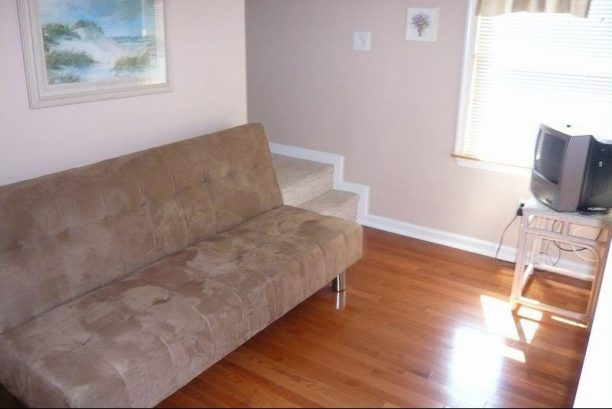 2nd Floor Sitting Area, New Hardwood Floor