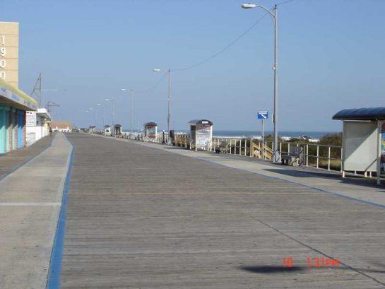 Boardwalk awaits summer too...