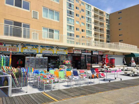 Steps to Boardwalk Shops