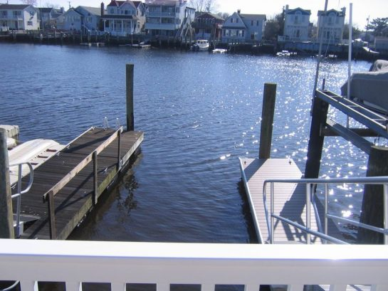Boat Slip Comes With Rental and a paddle boat