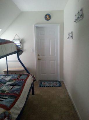 Optional 4th bedroom - bunk beds