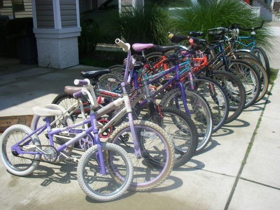 11 bikes all sizes adult/youth