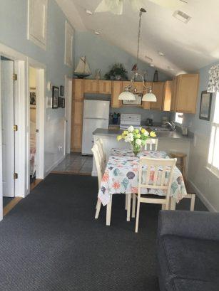 2nd floor living/ dining/ kitchen  open floor plan