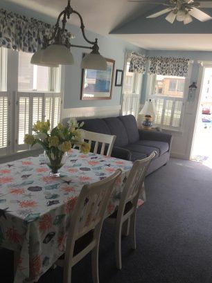 2nd floor dining/ living open floor plan