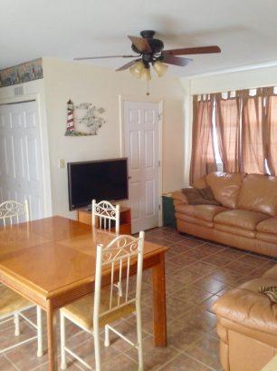 LOWER CONDO Living Room - Dining Area