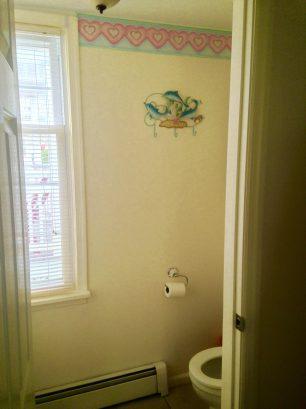 LOWER CONDO Half-Bathroom