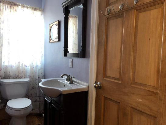Jack and Jill Bathroom shared by Renoir and Harmony Bedrooms