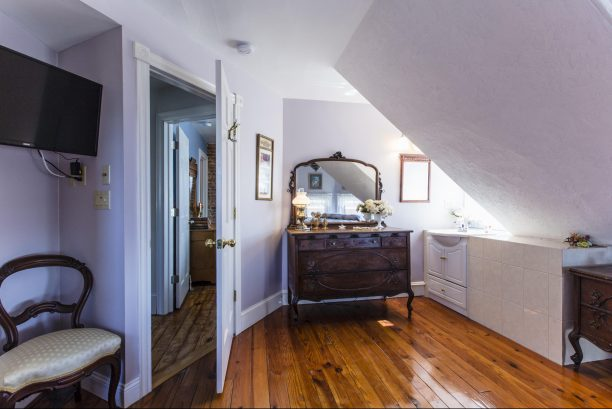 Romance Master Suite with lovely dressers & an extra sink!