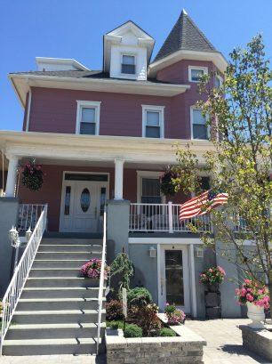 Main House (pink) ~ wrap around deck seats 16, great ocean breezes