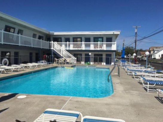 "Free Pool Privileges across Surf Ave at ""Surf 1600 Rental""motel (pool not at Hemingways)"