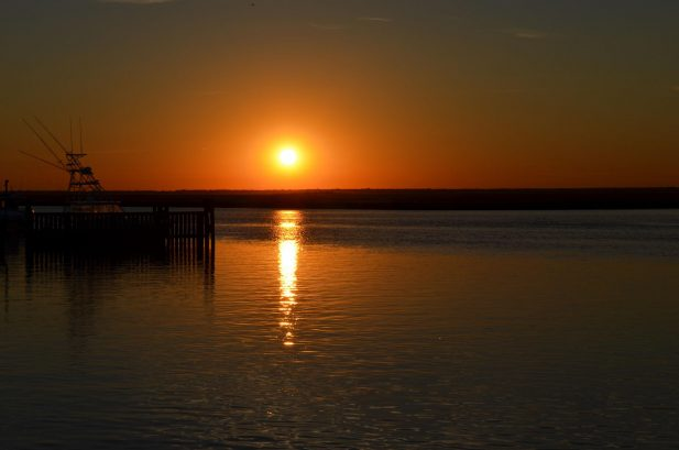 Another Day Ends in Brigantine - Sunset over the Bay