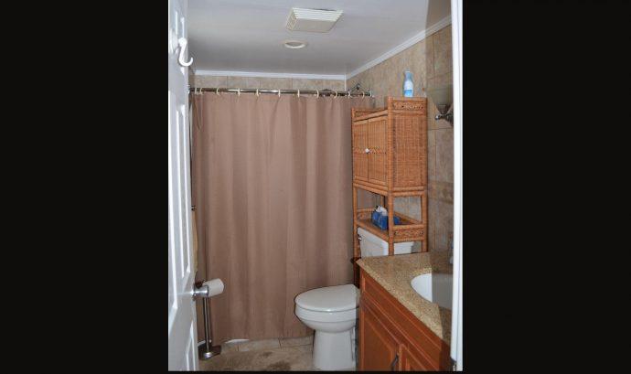 Completely Tiled Bathroom with Radiant Floor Heat