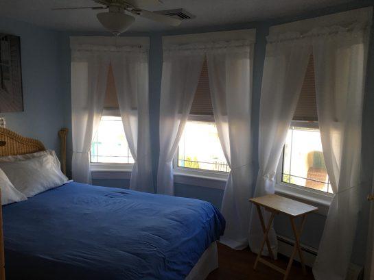 Second bedroom also has boardwalk views due to bay windows.