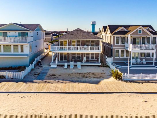 two family ocean front home