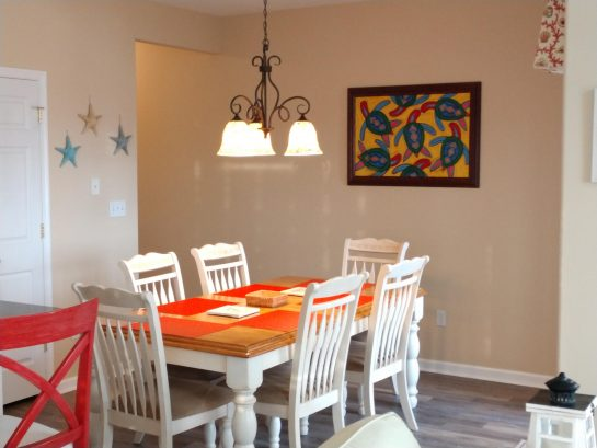 Dining Room From Family Room