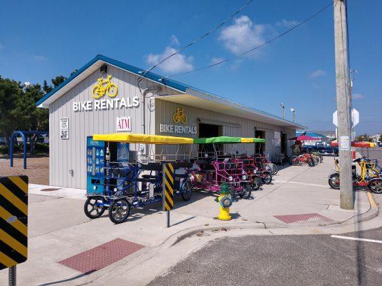 Bike Rental 2 Blocks Away