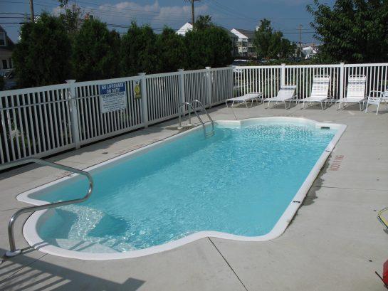 Private Pool For Condo Building