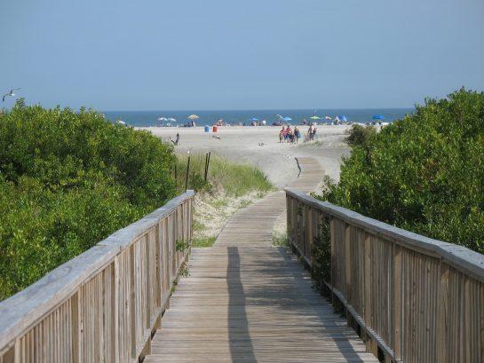 Beach Access 1 Block Away