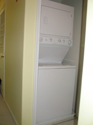 Washer and Dryer Off Hallway