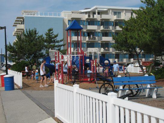 Childrens Playground 2 Blocks Away