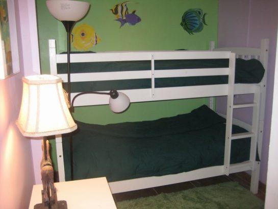 4th Floor Bedroom With Bunk Beds