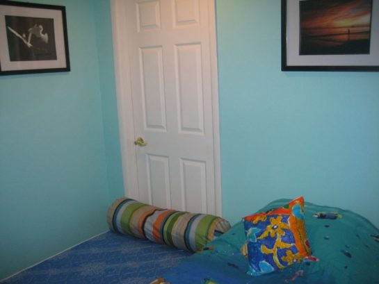Loft With Open Trundle Bed