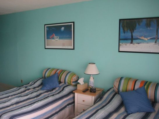3rd Bedroom - Two Double Beds