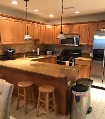 Kitchen/4 stools/cooking supplies