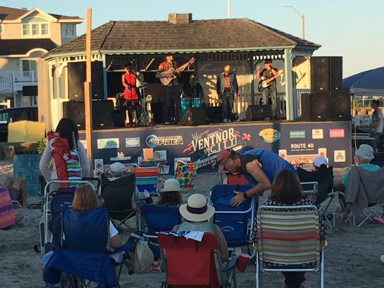 Free Concerts on the Beach nearby