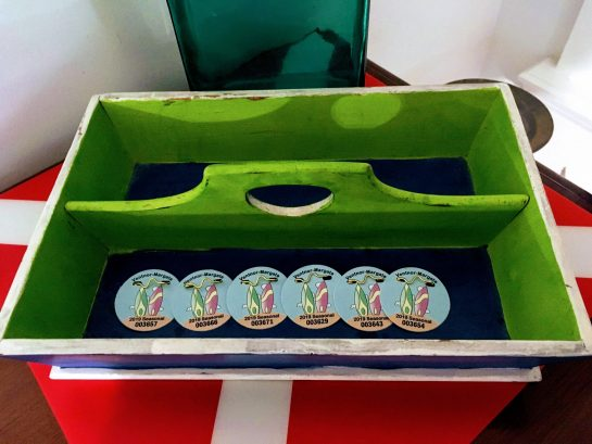 Beach badges for registered guests