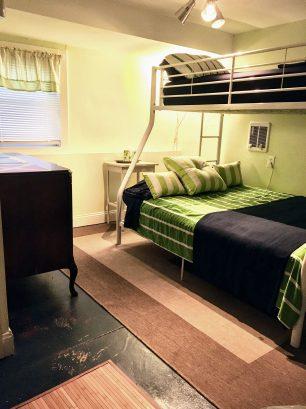 Ground Floor Bunk room, Twin over Full Bed