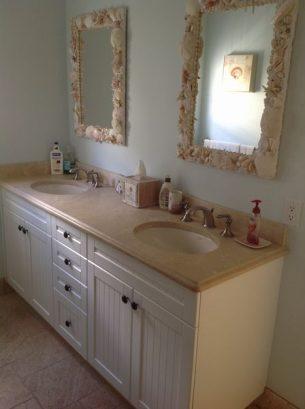 2nd Fl. Bathroom W/2 Sinks, Shower & Tub