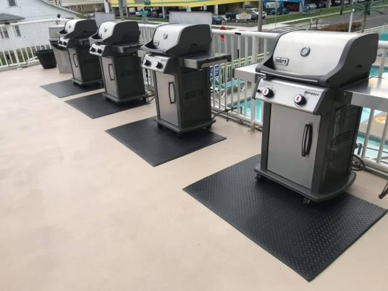 Gas BBQ grills