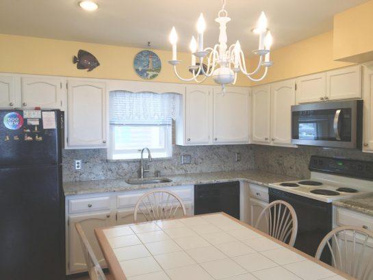 New granite countertop, lighting