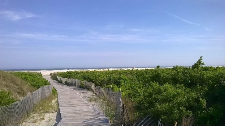 The walk to your beach
