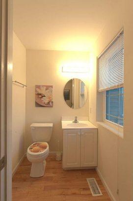 1/2 bath second floor