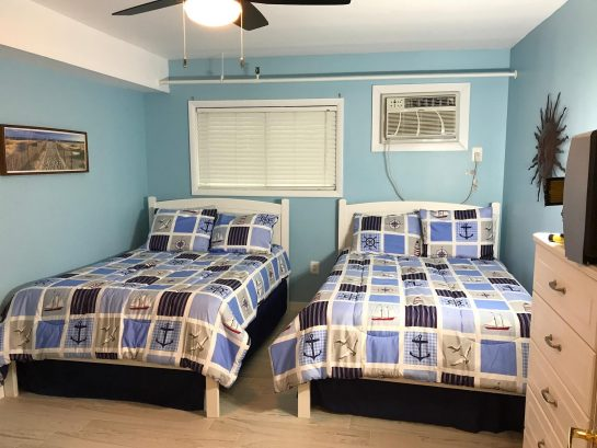 2 comfortable full size beds