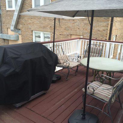 MAIN HOUSE Rear Deck