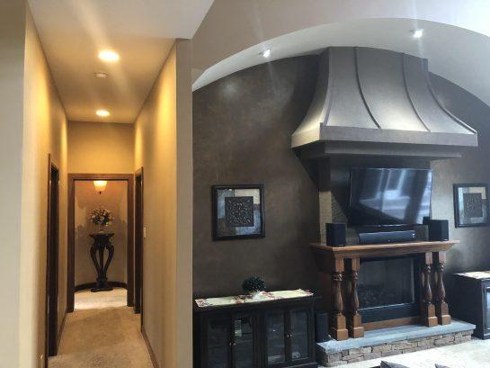 Greatroom....Hallway to Master Bedroom
