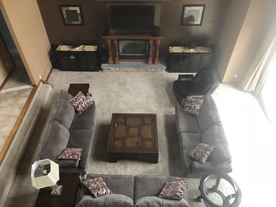 Great Room...A place on the couches for everyone!