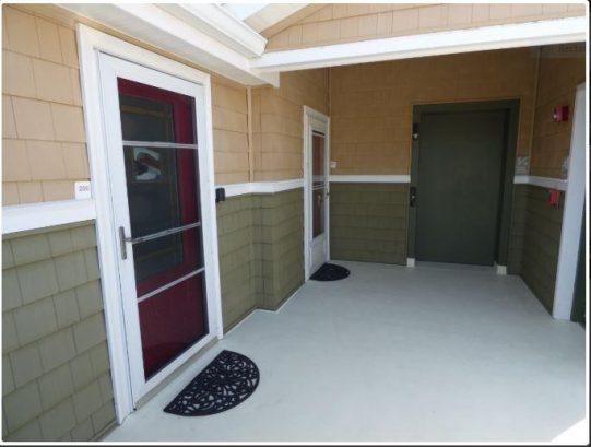 Condo front door