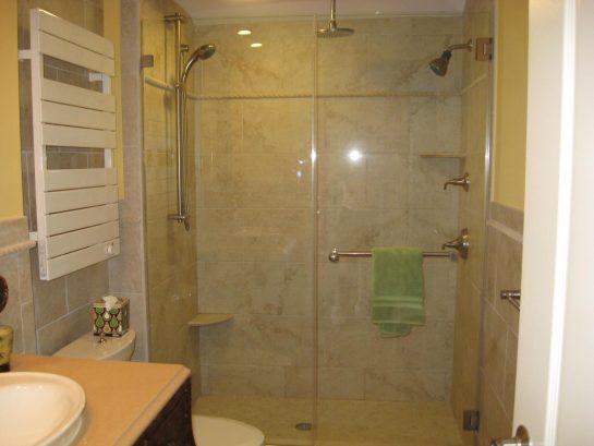 Oversized, 3 head shower