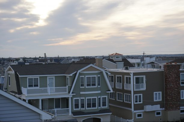View from rooftop deck