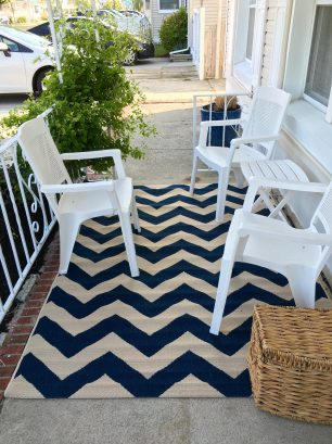 The best feature-  private front porch.