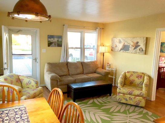 Open concept, spacious living area.