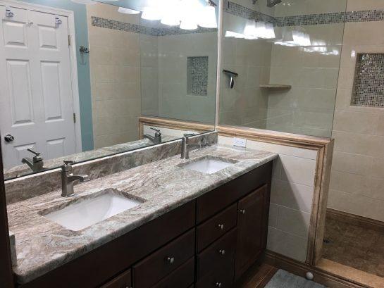 2018 New Master Bathroom