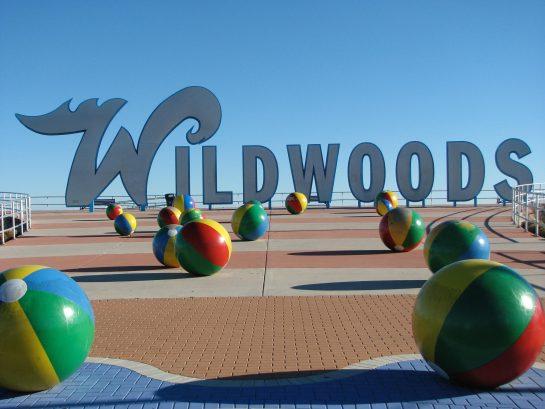 Famous Wildwoods Sign